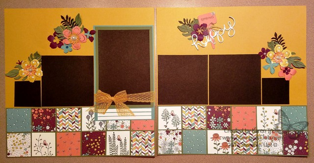 March 2016 scrapbook page_StampersClub